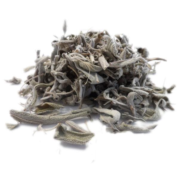 feuilles de sauge séchées pour tisane